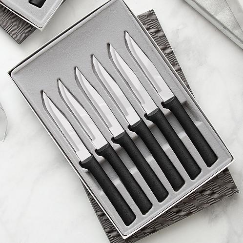 6 Piece Serrated Steak Knife Set