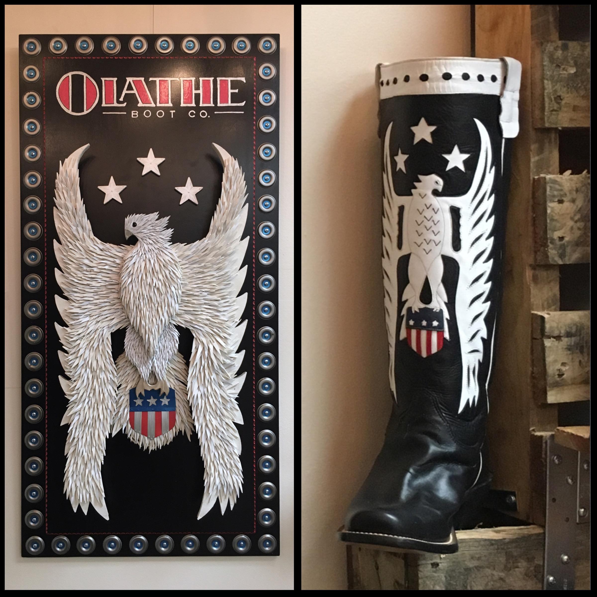 Olathe Boots Sign