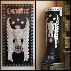 Olathe Boots Sign