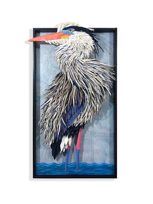 """RESOURCEFULNESS & WISDOM"" • Blue Heron"