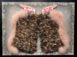 Wooley Chaps with Pink Angora trim