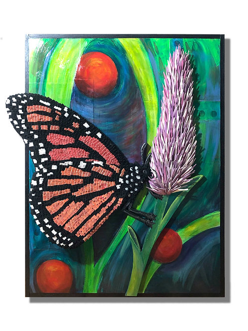 """""""TRANSFORMATION & POLLINATION"""" • Monarch Butterfly"""