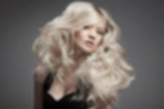 blonde big hair