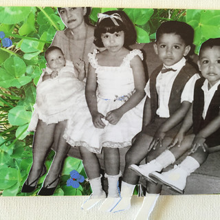"Cuban refugees, 4X6"" mixed"