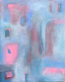 "isolation 16X20"" acrylic abstract"