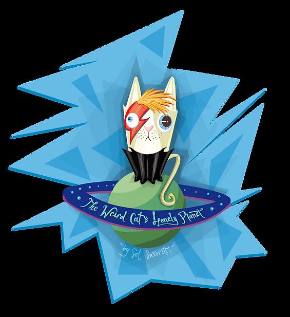 sol savoretti weird cat illustration
