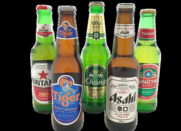 Aziatisch Bierpakket (6x)