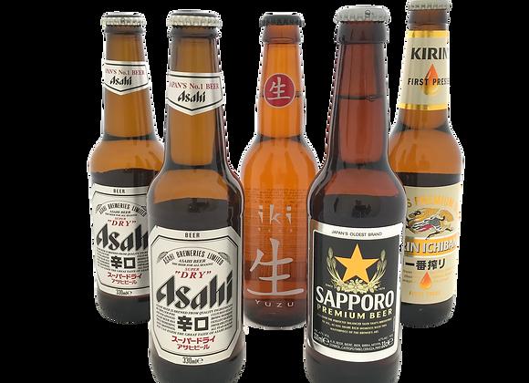 Japans Bierpakket (6x)