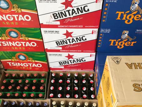 Aziatisch bier in opkomst door reisverbod!