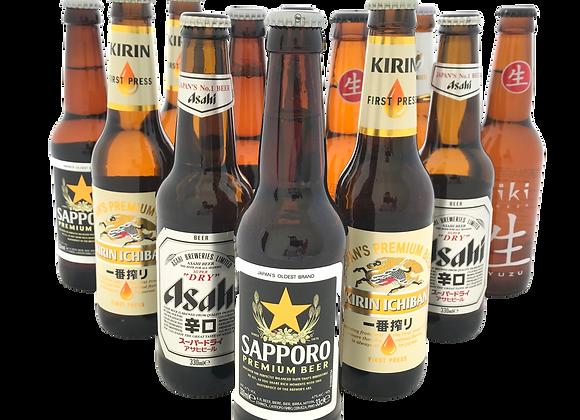 Japans Bierpakket (12x)