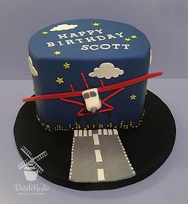 Cessna Airplane cake