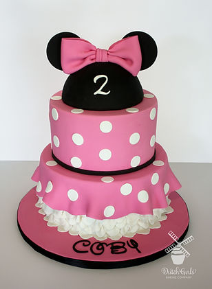 Modesto Girls Birthday Cake