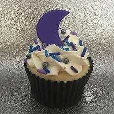 Moon  cupcakes