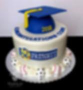 Prescott Jr High graduation cake