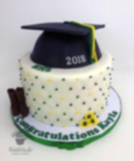 Hilmar High School Graduation Cake