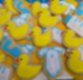 ripon baby shower cookies