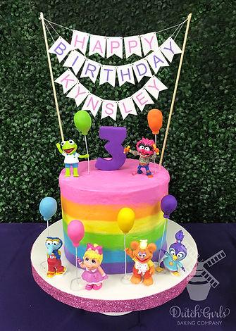 muppet babies cake