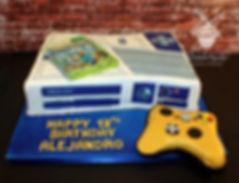 Xbox stars wars cake