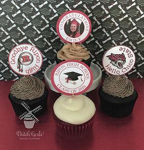 Ripon High School Graduations Cupcakes