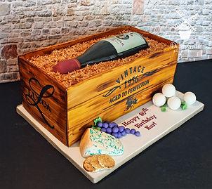 Lucca Winery Birthday cake
