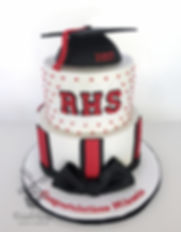 Ripon High School Graduation Cake
