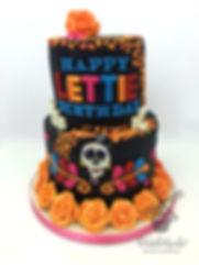 Disney Coco Birthday Cake