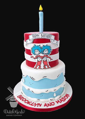 cat in the hat Dr Suess birthday