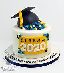 Graduation 2020 cake