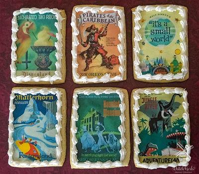 Vintage Disneyland Cookies