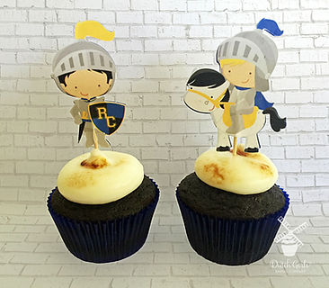 Ripon Christian Knights cupcakes