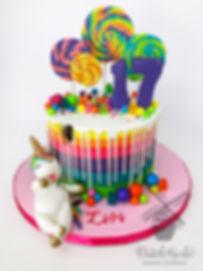 Sugar Coma Unicorn Cake