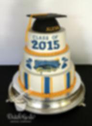Santa Barbara Graduation Cake