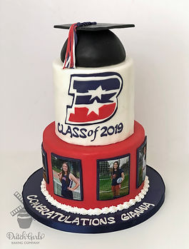 Beyer High School Graduation Cake