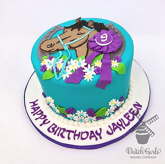 modesto horse birthday cake