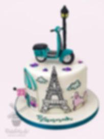 frence france birthday cake