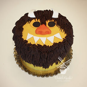 Where the Wild things are smash cake