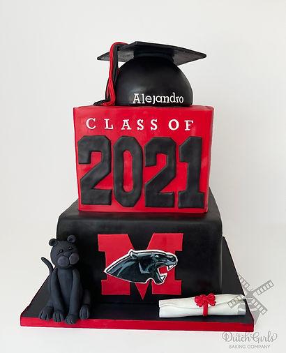 Modesto High School Graduation Cake