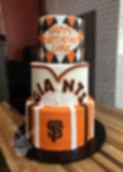 San Francisco SF Giants Birthday Cake