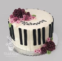 Harmony Piano Music cake