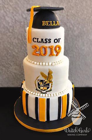 enochs high school graduation cake