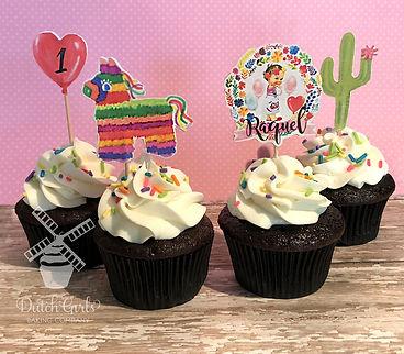 fiesta birthday cupcakes