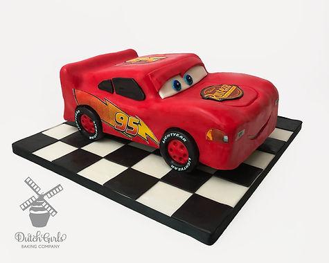 lightning mcqueen cake cars cake