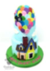UP sweet 16 birthday cake