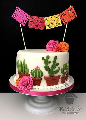 cactus fiesta cake