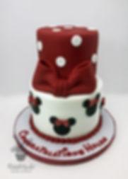 Minnie Mouse Congratulations Cake