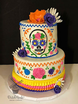 Cinco De Mayo or Day of the Dead cake