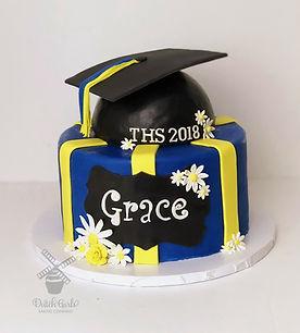 Turlock High School Graduation Cake