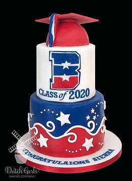 beyer high school modesto graduation cake