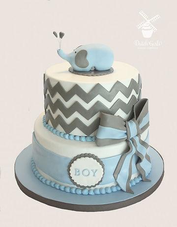 modesto baby shower cake