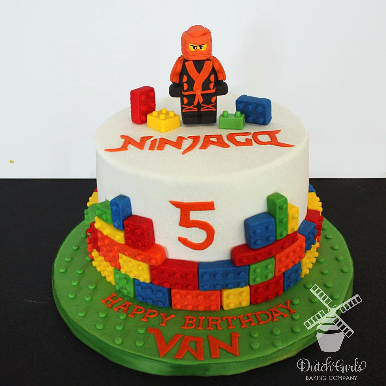 Ninjago Photo Cake